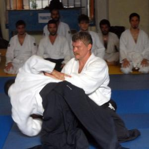 Evangelos Patras, 4th DAN, Aikido of Piraeus Association.